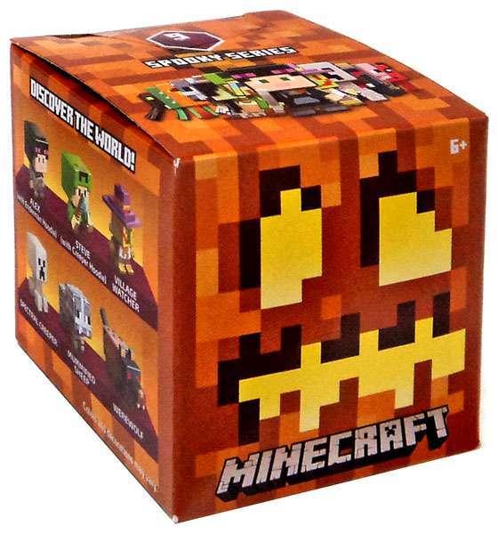 ตุ๊กตา Minecraft Spooky (Halloween) Series 9 Mystery Pack ลิขสิทธิ์แท้จาก Mojang