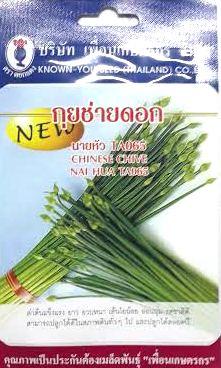 กุยช่าดอก นายหัว chnese chive nai hua เพื่อนเกษตร