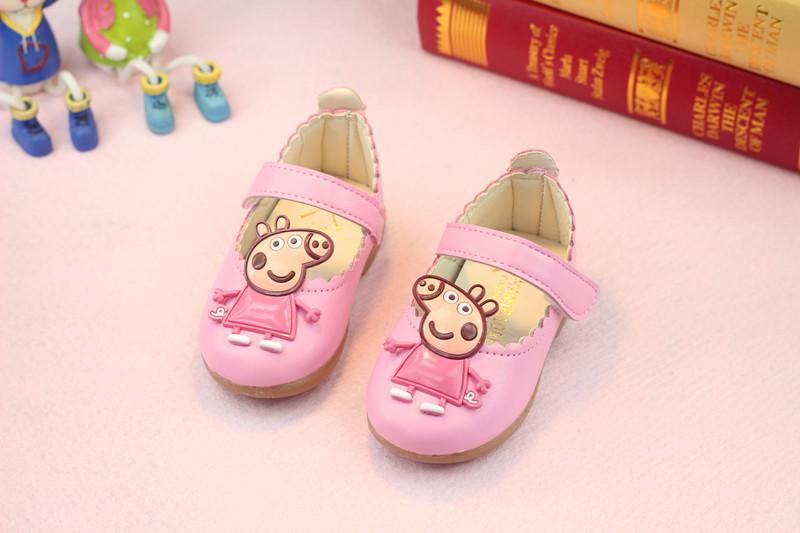 รองเท้าเด็กอ่อน 0-12เดือน รองเท้าเด็กชาย เด็กหญิง สีชมพู Peppa Pig