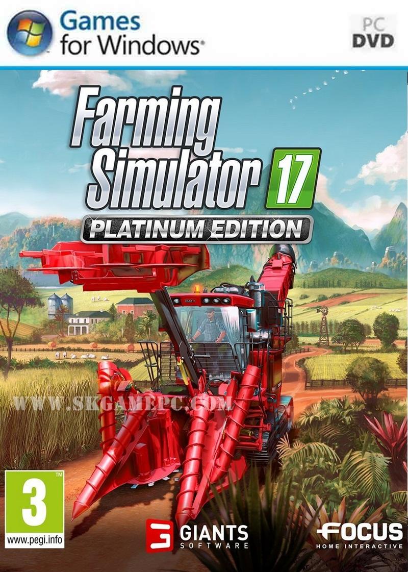 Farming Simulator 17 Platinum Edition ( 2 DVD )