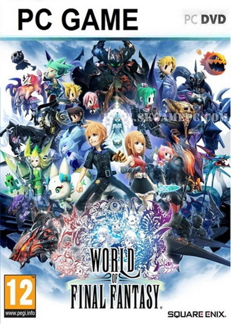 World of Final Fantasy ( 3 DVD )