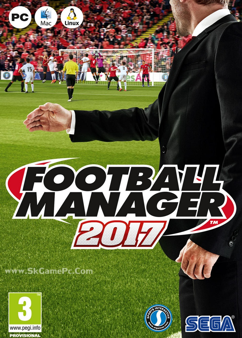 Football Manager 2017 ( 1DVD )