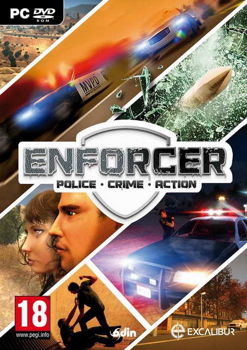 Enforcer Police Crime Action ( 1 DVD )