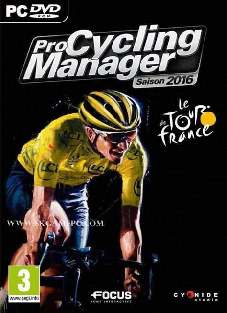 Pro Cycling Manager 2016 ( 2 DVD )