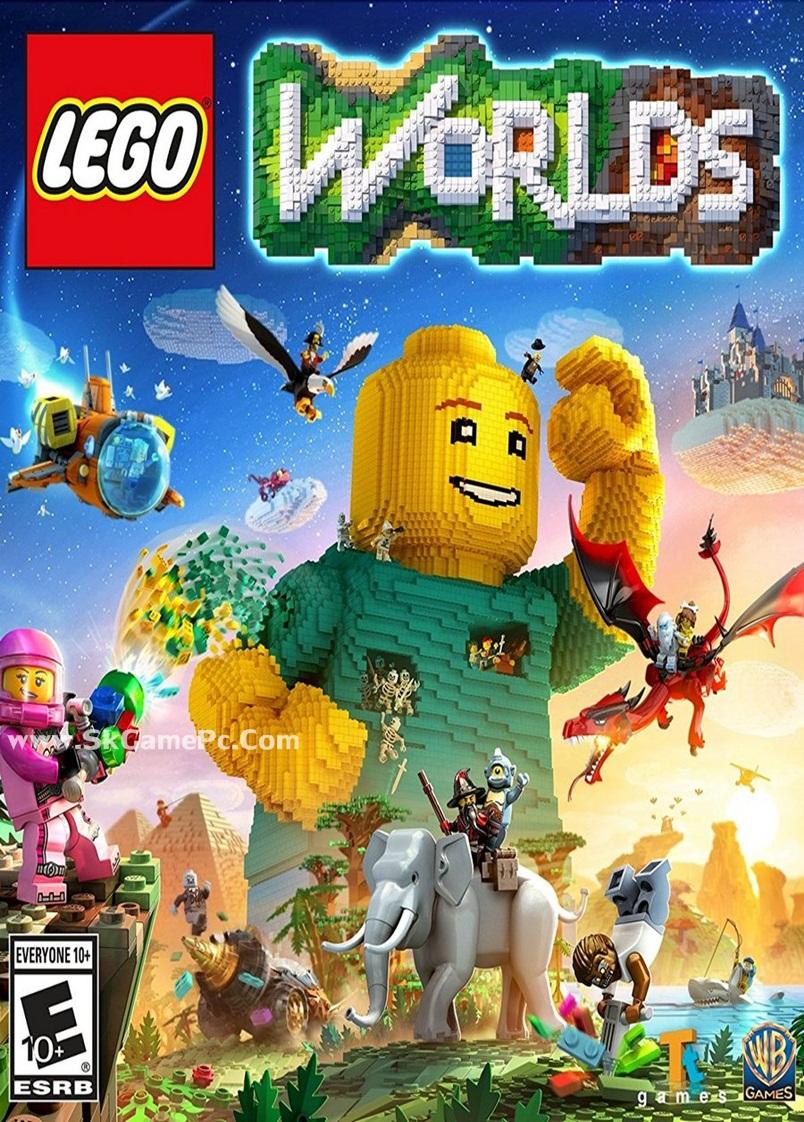 Lego Worlds ( 1 DVD )
