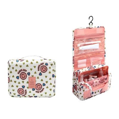 (สีชมพู) กระเป๋าสะพายกันน้ำพกพาพับเก็บได้ ขนาด 24 x 19 CM