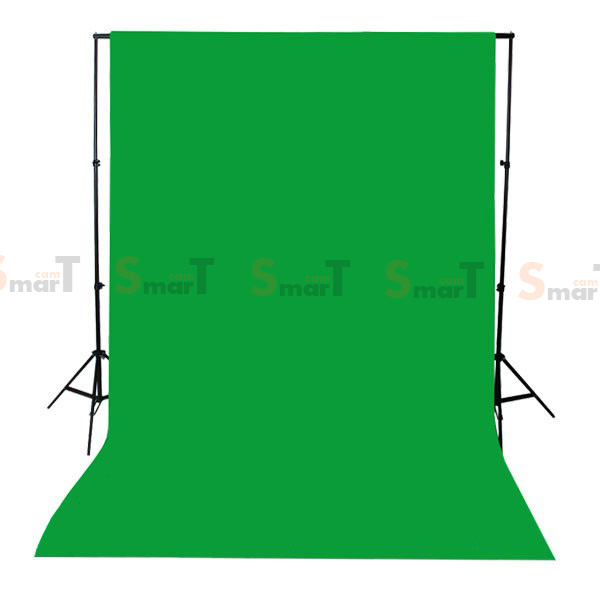 Background Green Backdrop 3.2x6m. Cotton for Chromakey