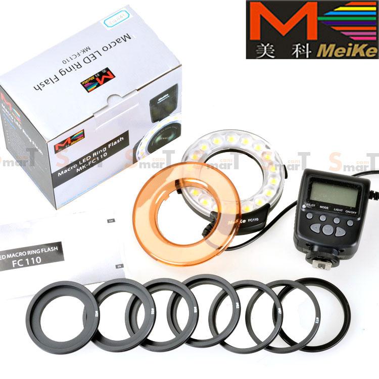 Meike LED Macro Ring Flash FC110