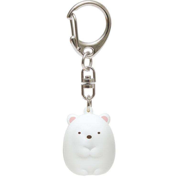 พวงกุญแจกระพรวน Sumikko Gurashi หมีขาว