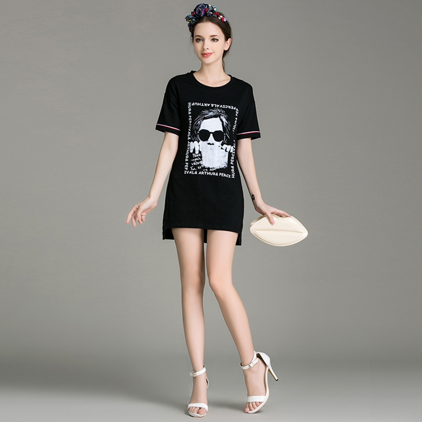 ชุดเดรส Vicki Hi-Low Short Sleeves