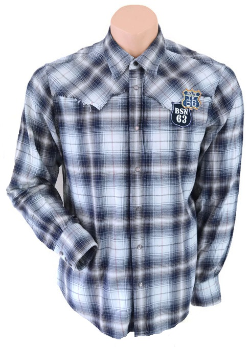 Topman Fashion Checked Shirt Size L