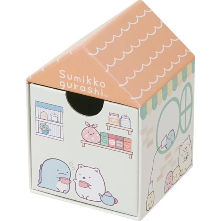 กล่องใส่ของ Sumikko Gurashi บ้านสีส้ม