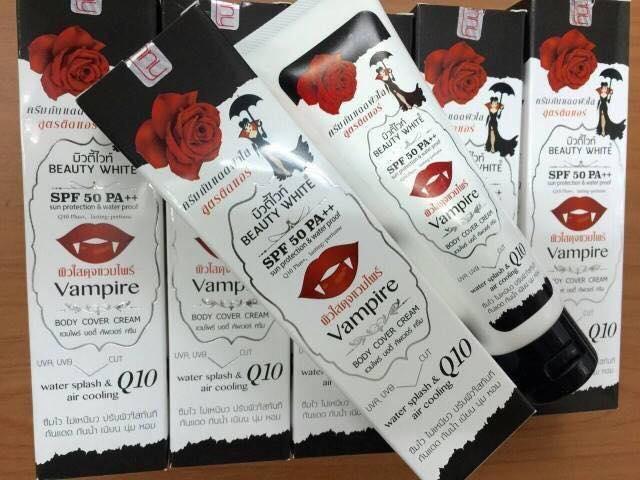 ผลการค้นหารูปภาพสำหรับ beauty white vampire body cover cream
