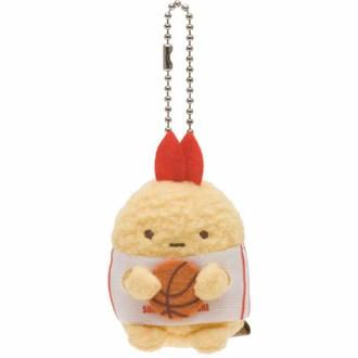 พวงกุญแจตุ๊กตา Sumikko Gurashi หางกุ้ง-บาส