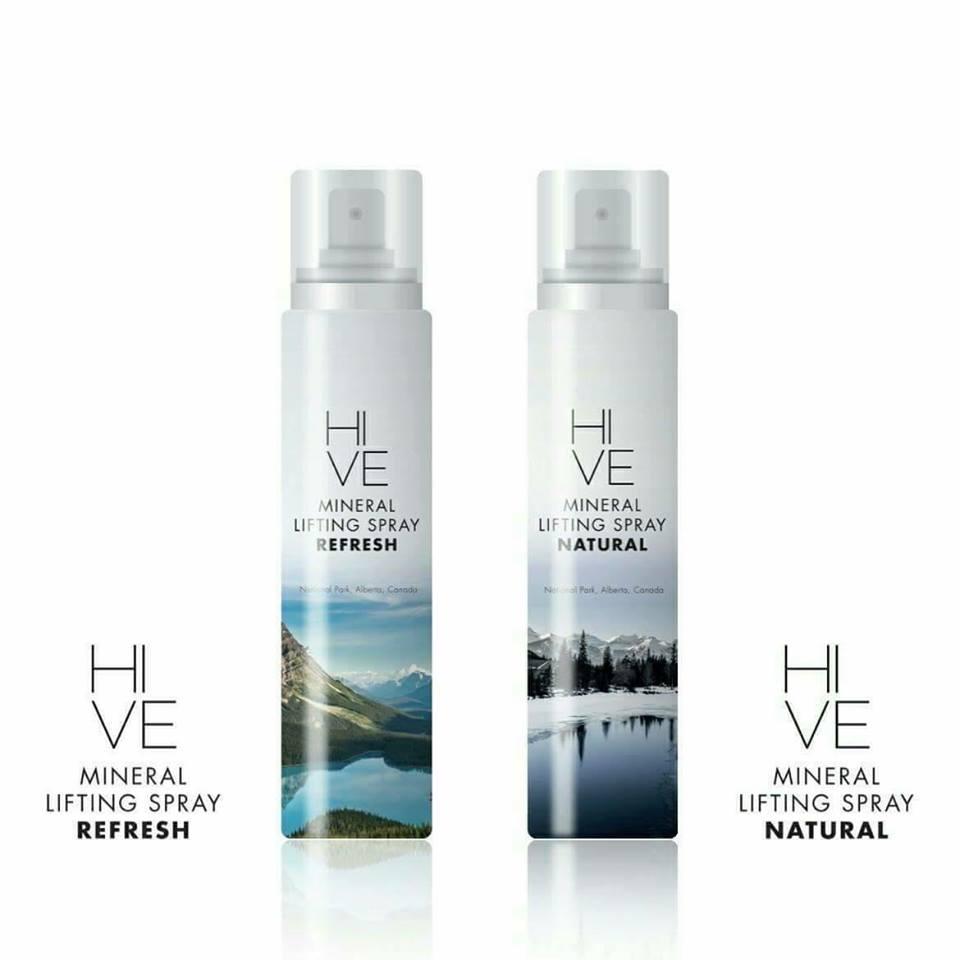 Hive Mineral Lifting Spray 145 ml. ไฮฟ สเปรย์น้ำแร่ ยกกระชับผิวหน้า